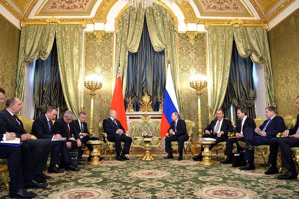 Во вторник в Москве встретились Владимир Путин и Александр Лукашенко. Фото: kremlin.ru