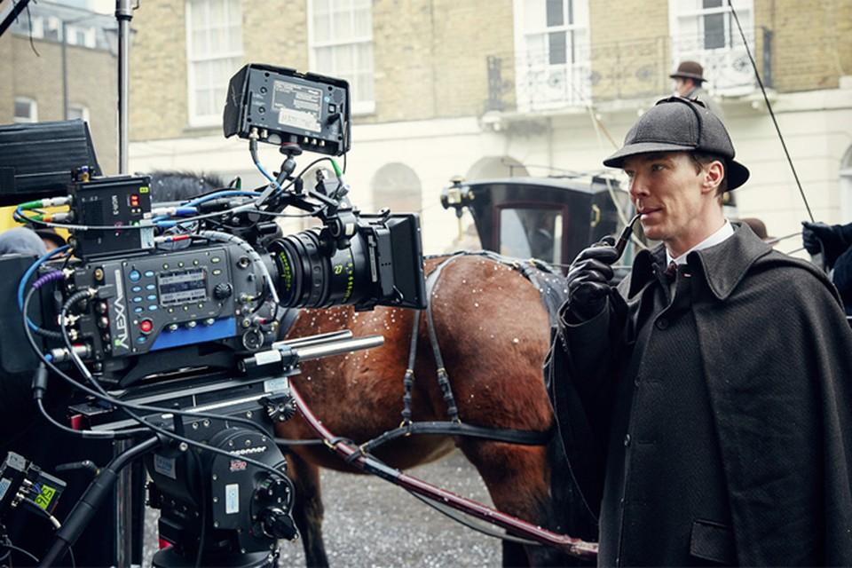 Специальный, рождественский эпизод сериала «Шерлок» назвали «Безобразная невеста»  Фото: BBC Worldwide