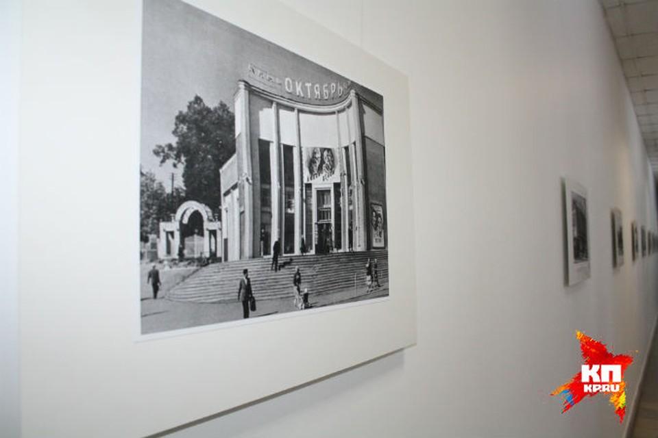 """Уже работающая фотовыставка в """"Октябре"""" разрастется до музея кино."""