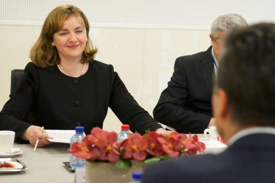 Наталья Герман - дочь первого президента Молдовы - кандидат на пост генсека ООН. Фото: пресс-служба правительства Молдовы