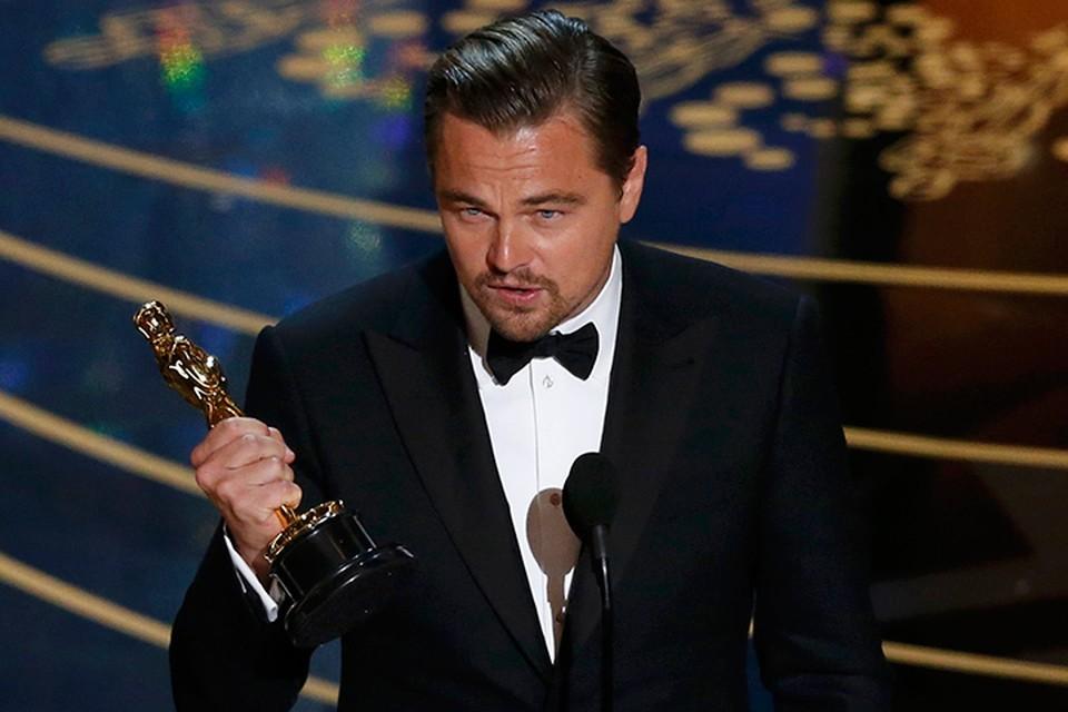 Голливудский актер Леонардо Ди Каприо получил свой заветный «Оскар»