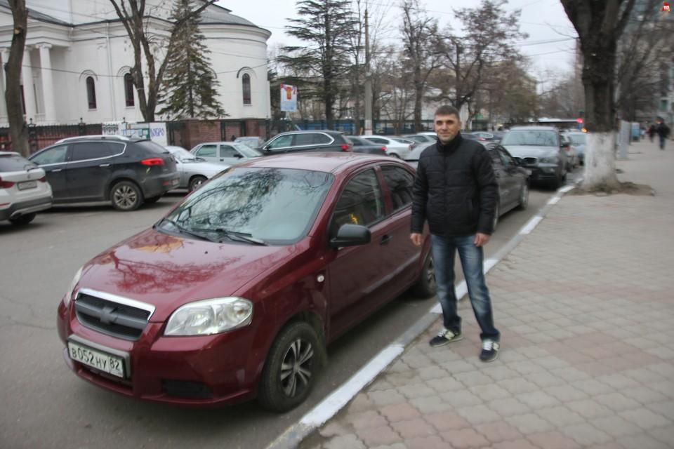 Спустя два года Виталий отремонтировал свой автомобиль.