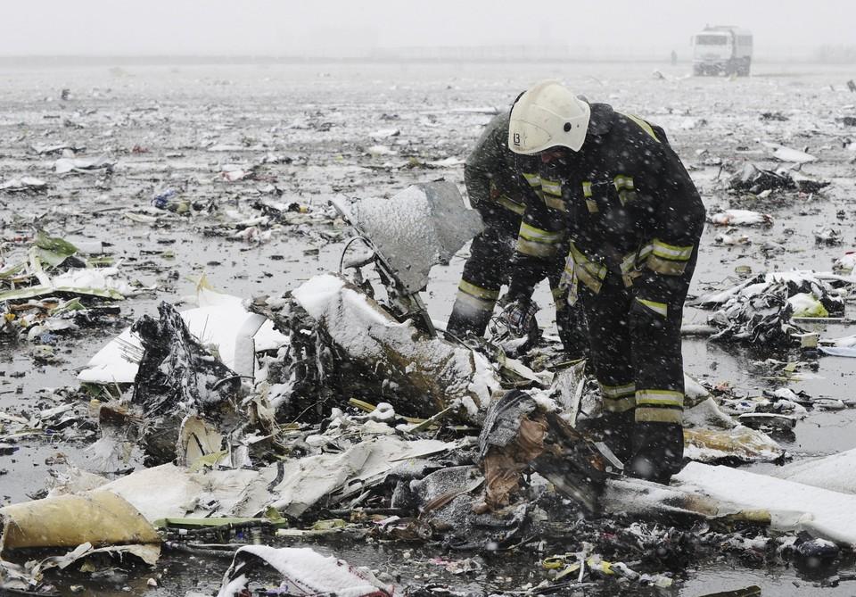 Трагедия произошла ночью 19 марта при второй попытке самолета Боинг совершить посадку в аэропорту Ростова-на-Дону