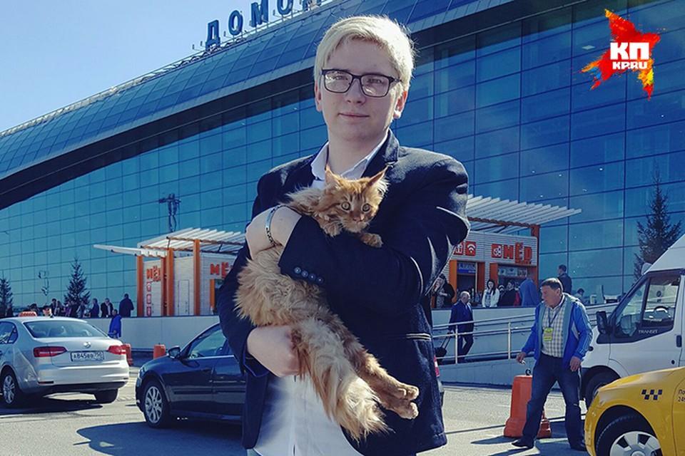 Московский блогер взялся за спасение травмированного кота из Бурятии