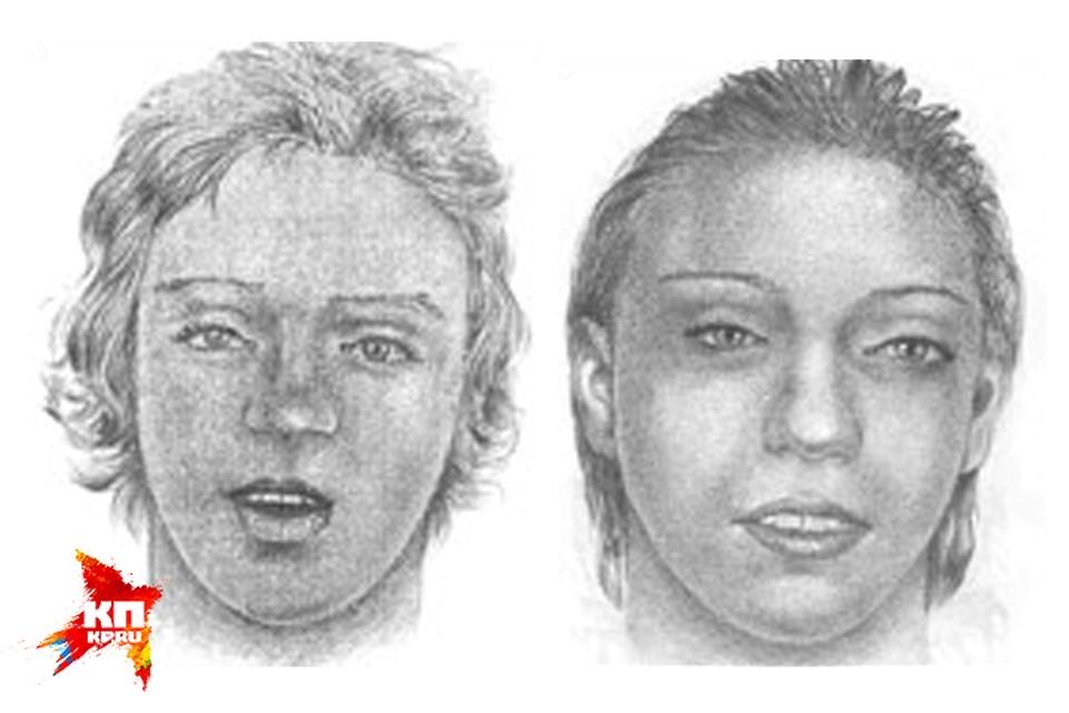 Большинство жертв маньяка до сих пор не опознаны. Так изобразили двух девушек художники, нанятые криминалистами.