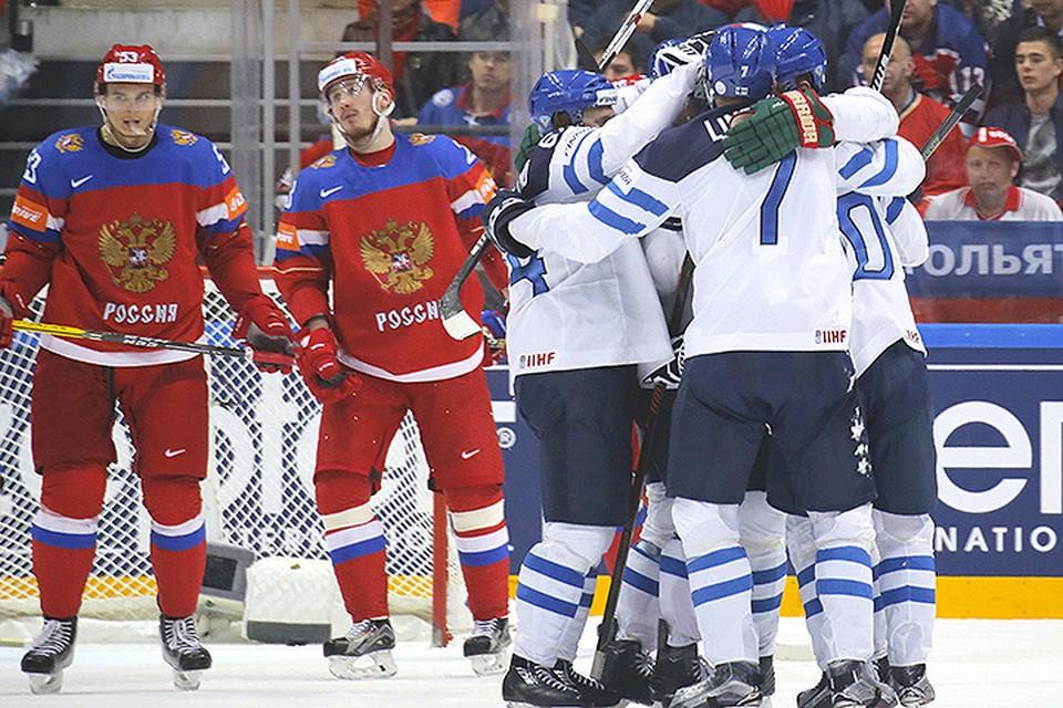 Сборная Финляндии победила россиян в полуфинале Чемпионата мира по хоккею.