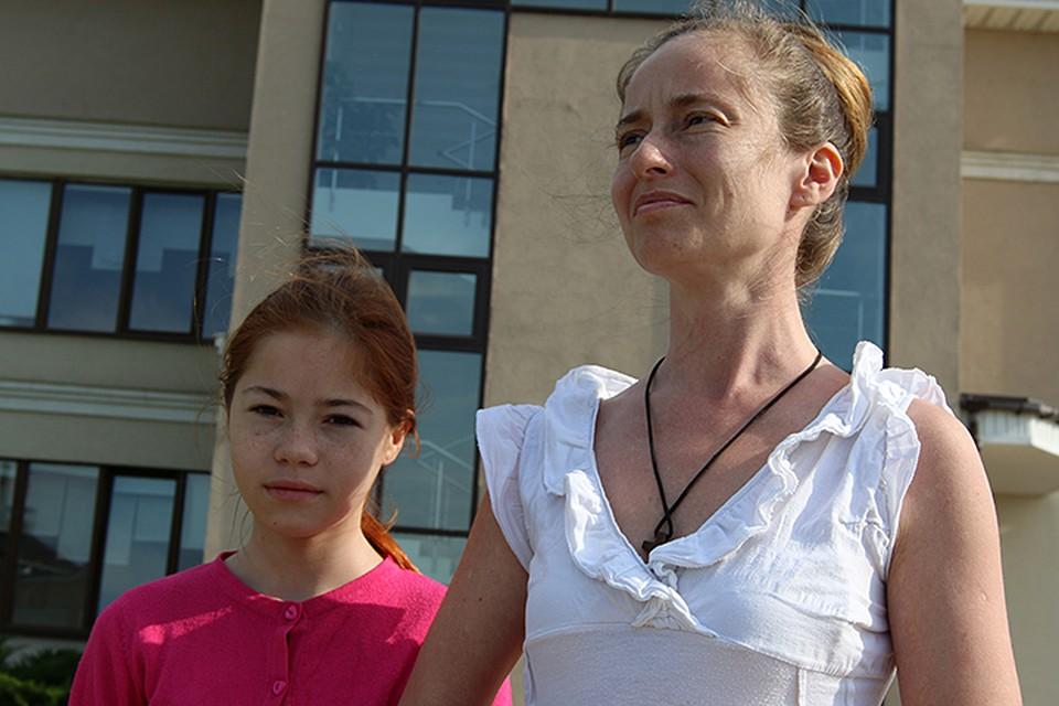 Сейчас Настя и ее мама в безопастности