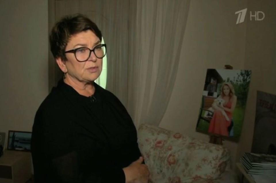 Мама Жанны Фриске - Ольга. Фото: стоп-кадр