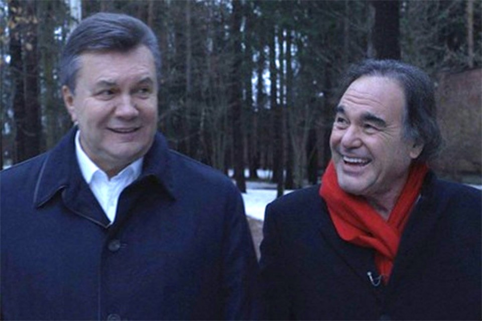 Оливер Стоун продемонстрировал документальную ленту «Украина в огне»