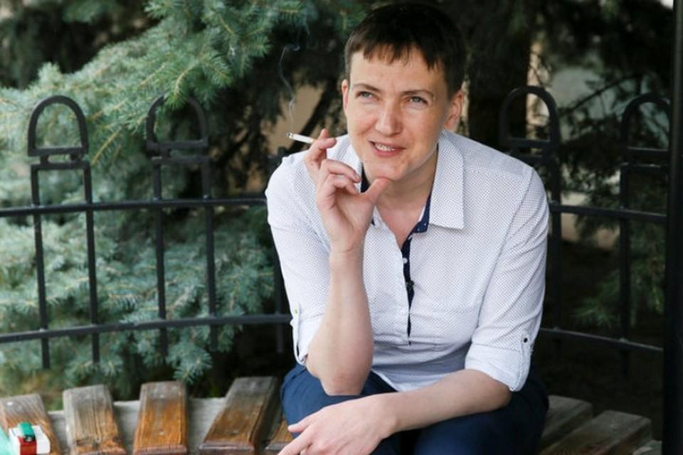 После помилования Надежда Савченко вернулась в Киев и сделала десятки громких заявлений