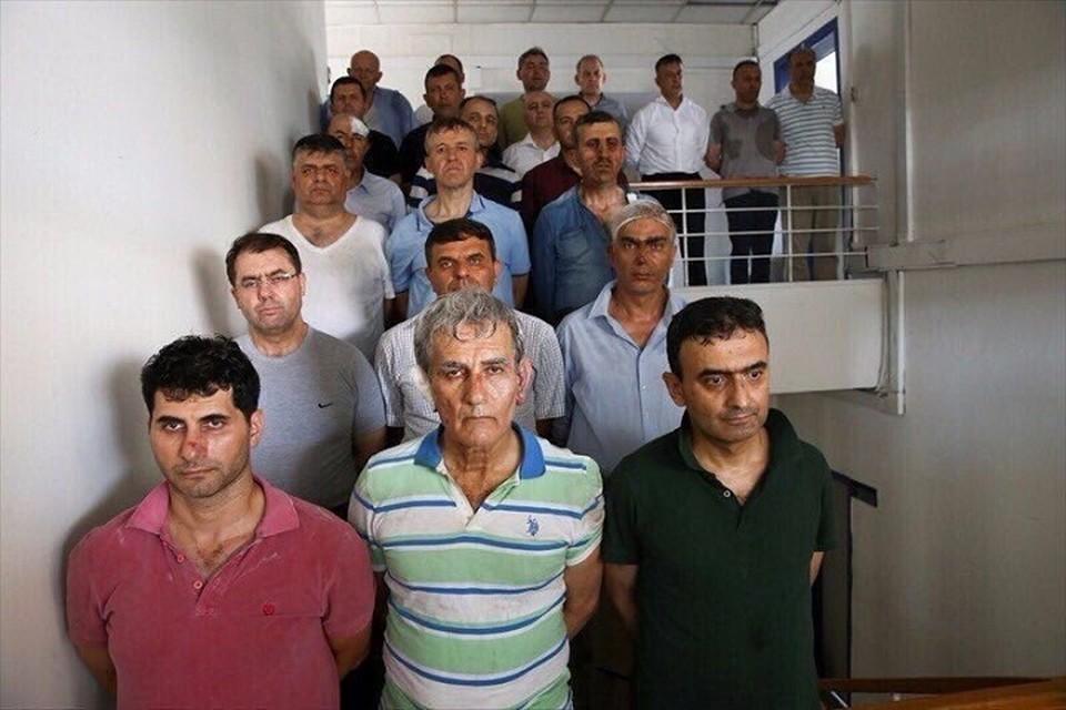 Генералы-инициаторы переворота в Турции. Фото: odatv.com