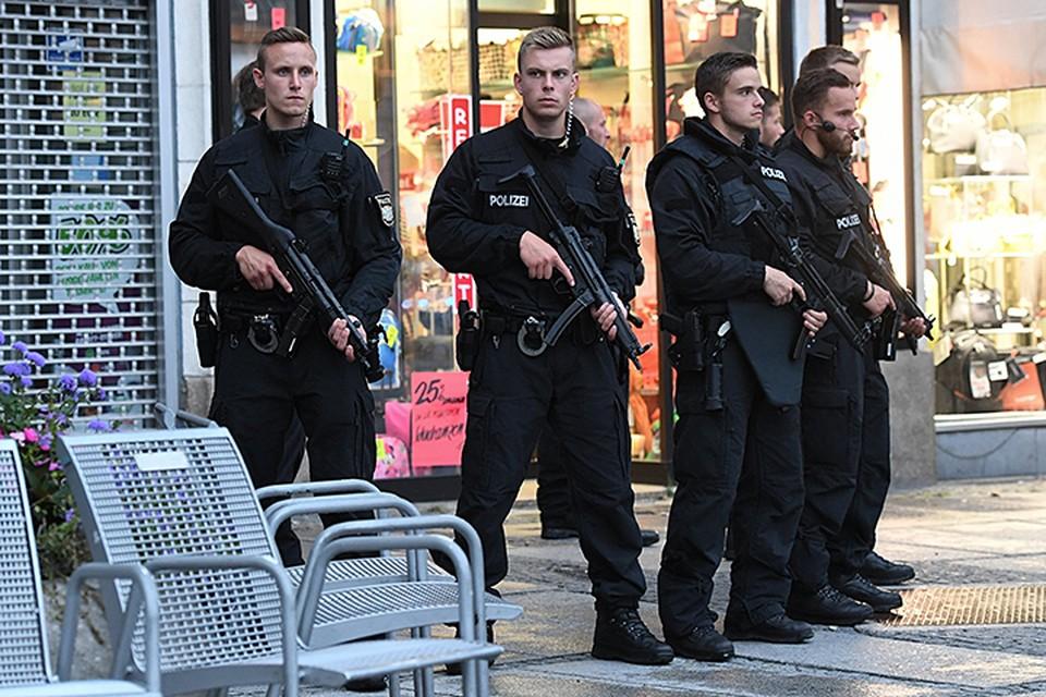 В центре Мюнхена по соображениям безопасности закрыты все рестораны