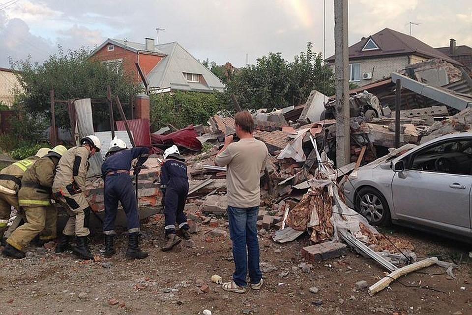 Взрыв в Краснодаре сейчас