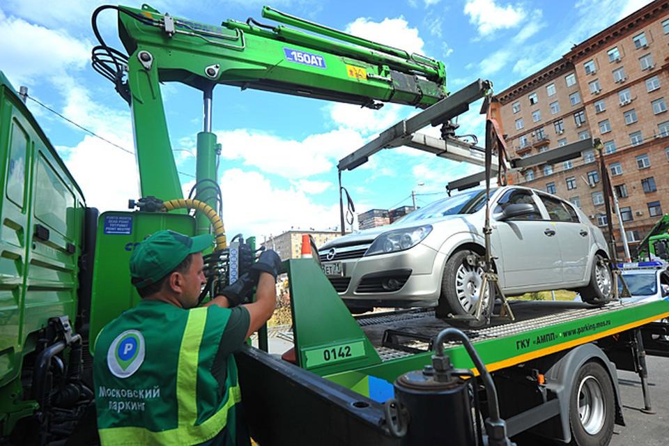Эвакуация машин за неправильную парковку: нюансы законодательства