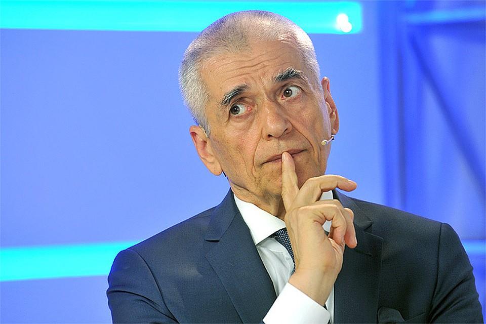 """Геннадий Онищенко: """"Если мужчина в год выпивает 16 литров алкоголя ..."""