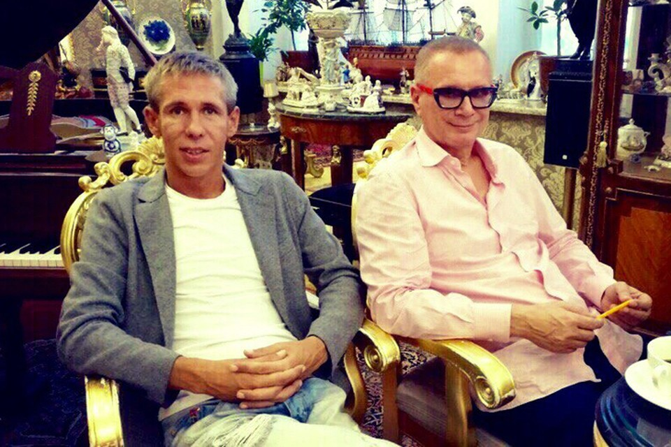 Алексей решил со своим близким другом певцом и бизнесменом Андреем Ковалевым открыть клинику для лечения алкоголиков. Фото из архива Алексея Панина