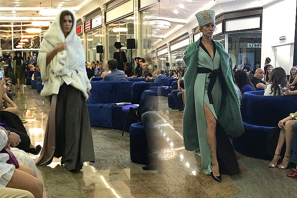 В Сочи прошел показ прославленного модельера Игоря Гуляева