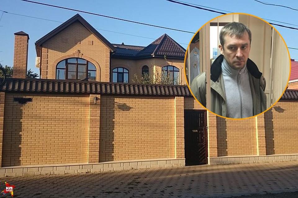 Дом, где живут сестра и мать Дмитрия Захарченко в Ростове-на-Дону.
