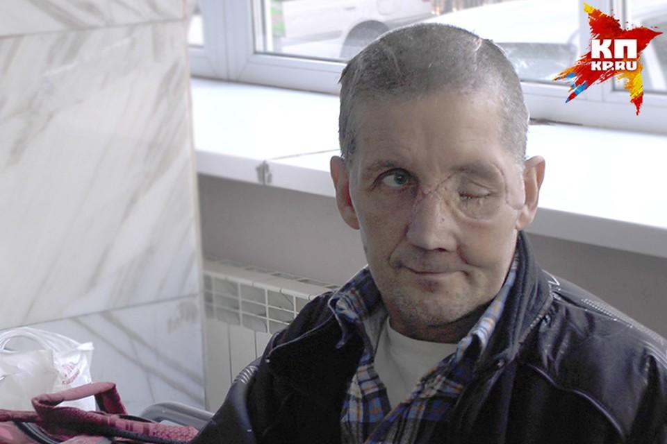 Петр Куц едва не погиб в схватке с медведем