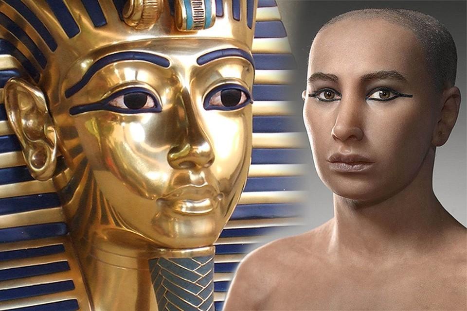 Ученые восстановили внешность египетского фараона.