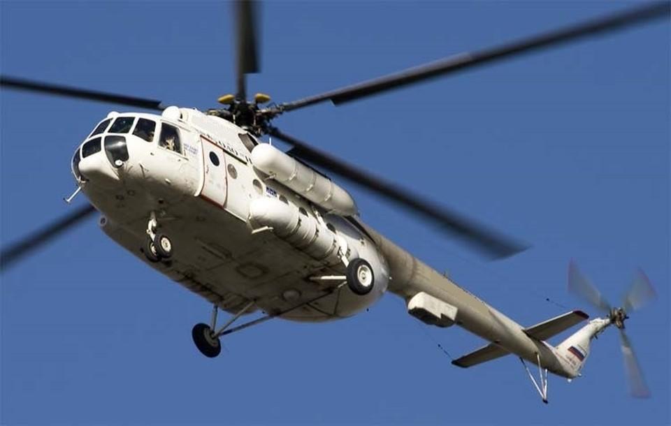 Следователи начали доследственную проверку факту крушения вертолета на Ямале. Фото - пресс-служба МЧС ЯНАО