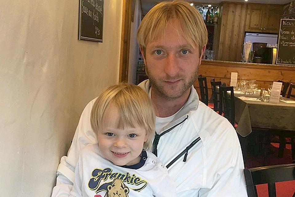 может евгений плющенко с сыном последние фото это