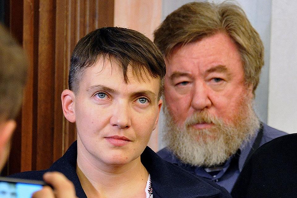 Надежда Савченко пригласила корреспондента «Комсомолки» Николая Варсегова в Луганск.