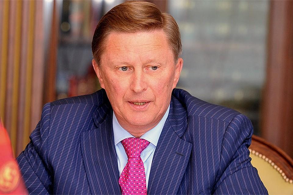 Спецпредставитель президента по вопросам экологии Сергей Иванов.
