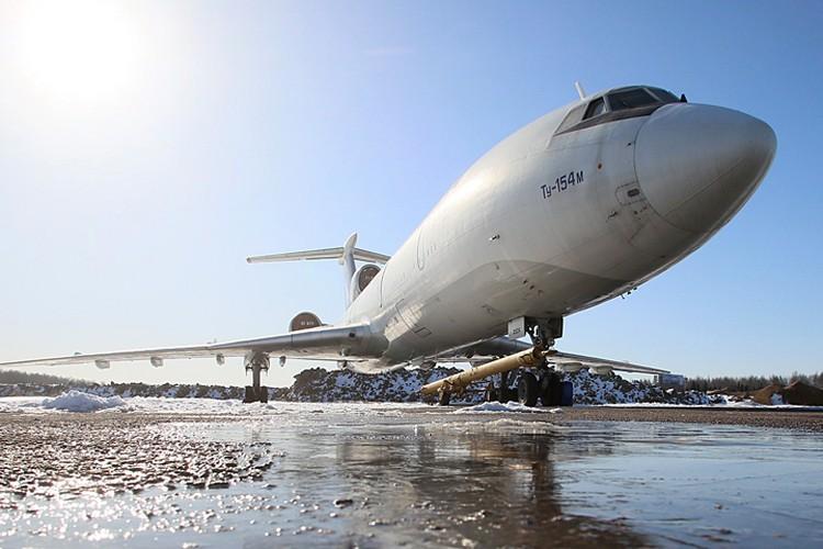 Лайнер вылетал из подмосковного военного аэродрома Чкаловский