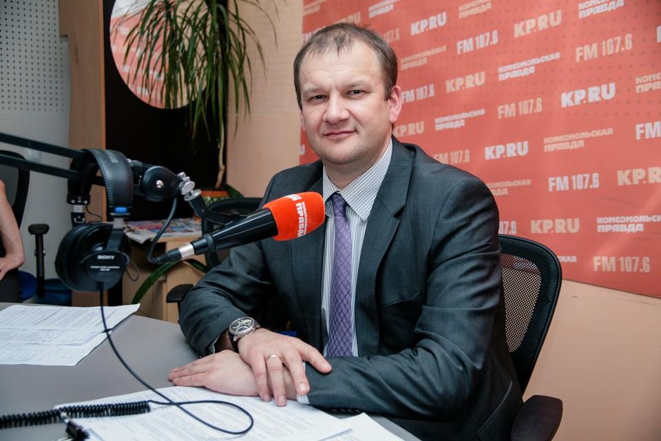 Председатель Гордумы Ижевска Олег Гарин
