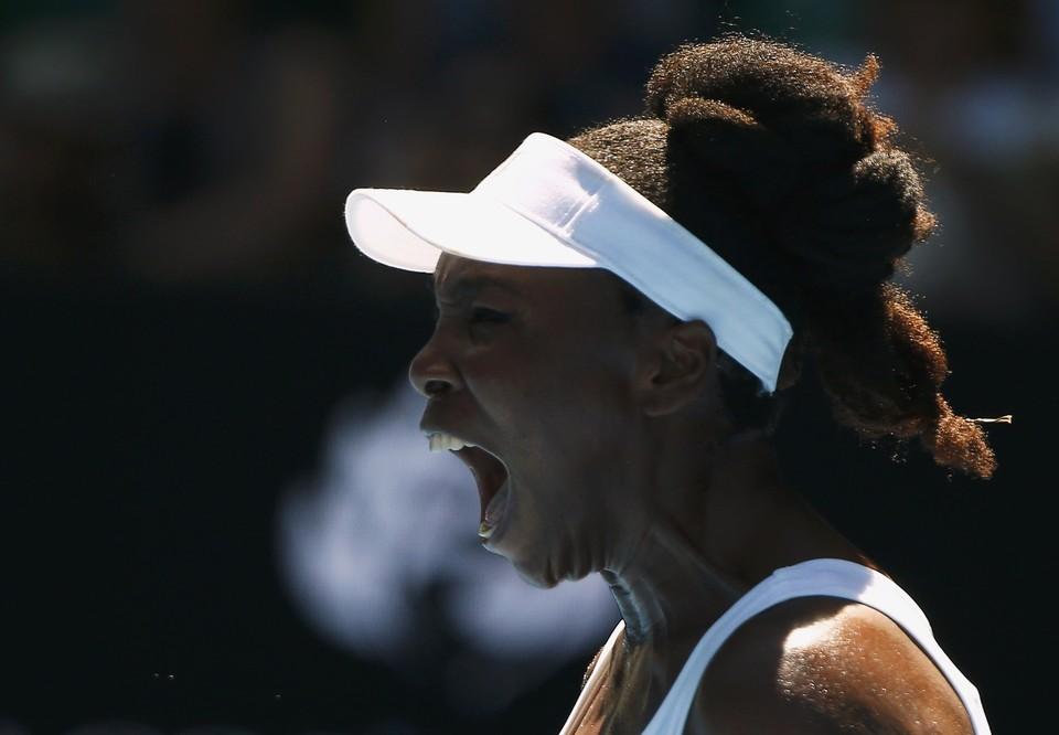 Тем не менее, спортсменка все равно выиграла свой матч второго круга Australian Open.