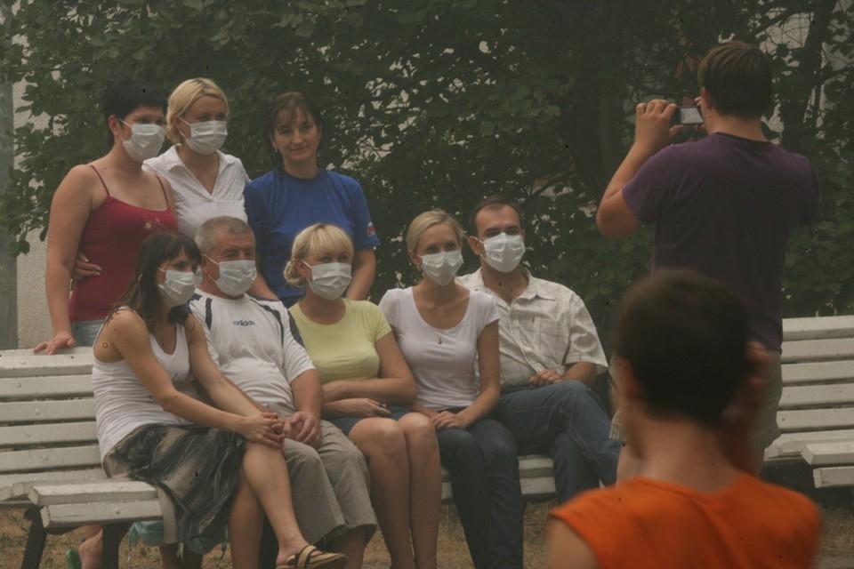 Неужели мы скоро будем постоянно ходить в масках по городу?