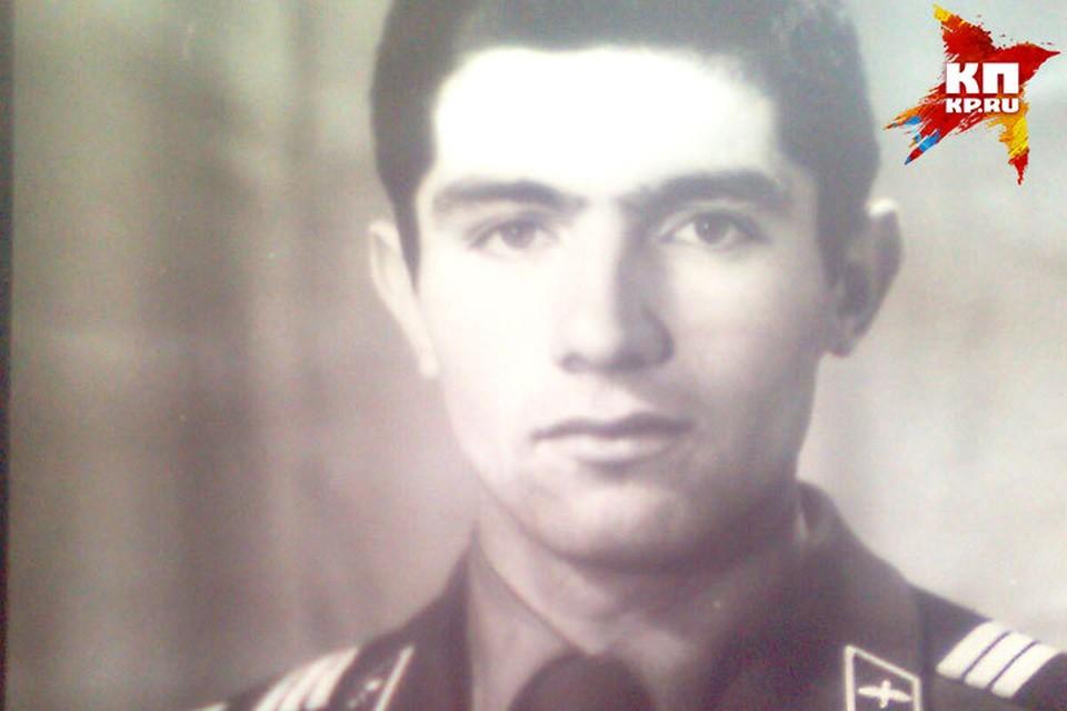 Зейнудин Батманов в молодости. Фото: из архива семьи героя