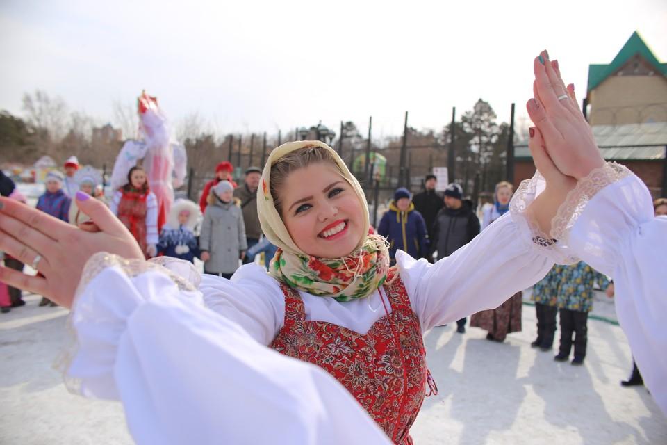 Широкая Масленица в Ярославле.