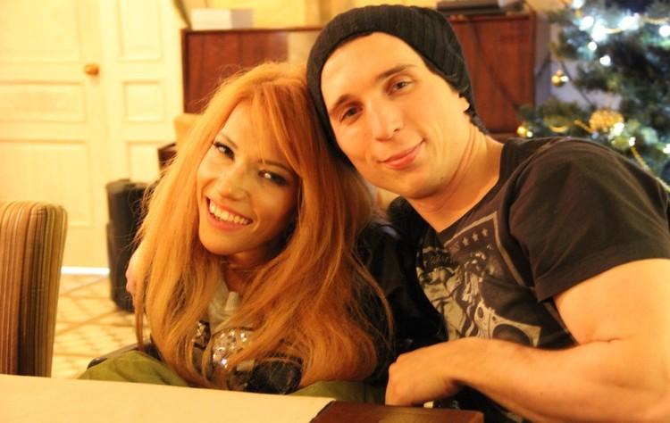 Юлия Самойлова и её парень Алексей Таран