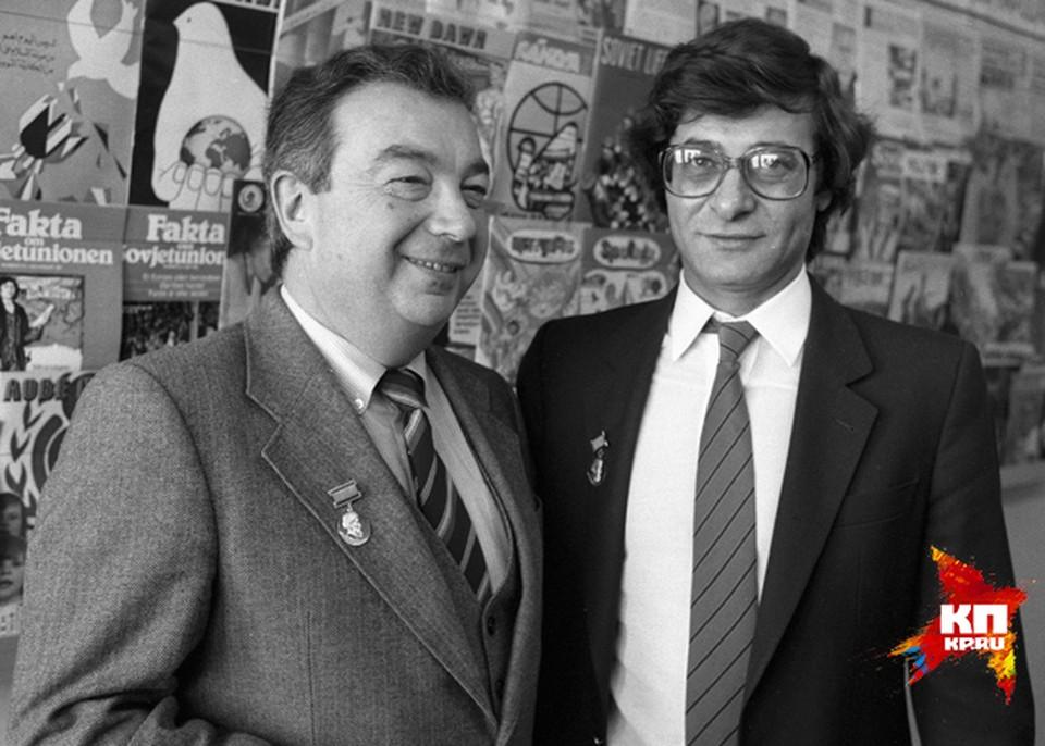 Свою карьеру Евгений Максимович начинал как журналист