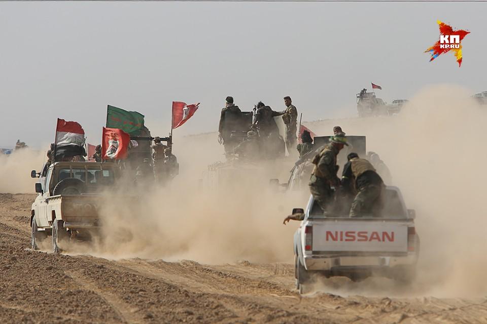 Войска коалиции продолжают штурм Мосула