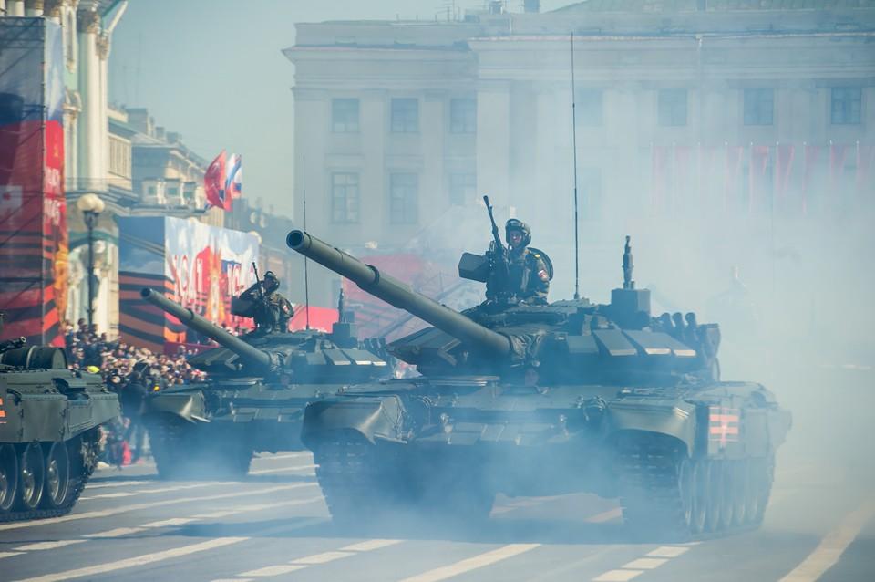 Парад, посвященный 73-й годовщине Победы в Великой Отечественной войне
