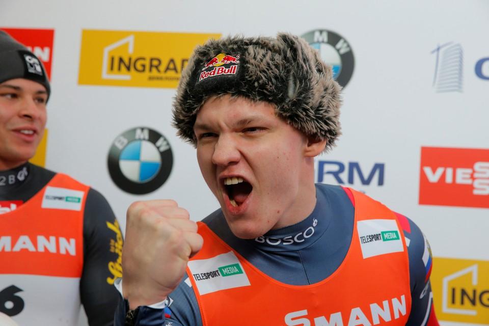 Россиянин Роман Репилов завоевал золото на Чемпионате мира по санному спорту - 2020 в одиночном разряде.