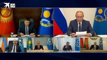 Путин: Россия в высшей степени заинтересована в стабилизации обстановки в Киргизии