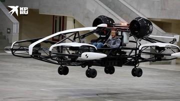 В Москве тестируют летающее такси