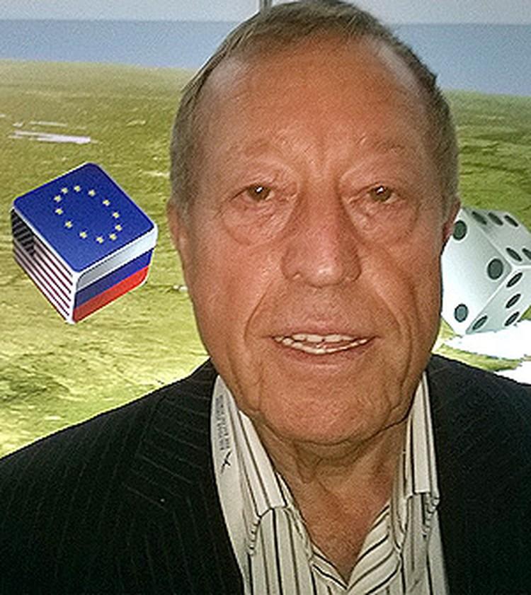 Руководитель латвийской парфюмерной фирмы «Дзинтарс» Илья Герчиков.