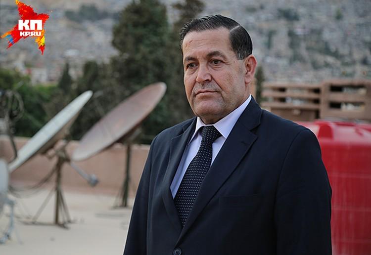 Доктор Хасан Хасан, сирийский политолог