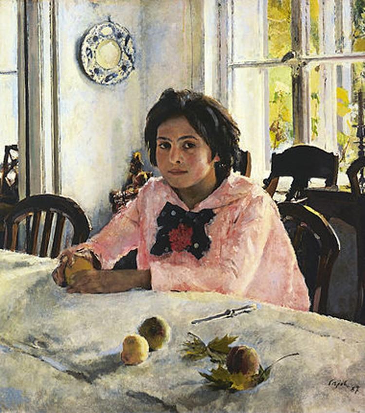 «Девочка с персиками» (1987 г.) Фото: предоставлено организаторами.