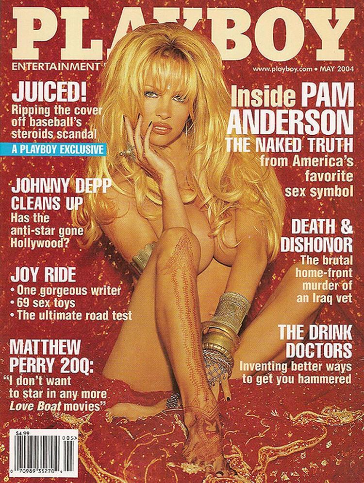 Любимица Хью Хефнера и самая запоминающаяся блондинка Playboy Памела Андерсон.