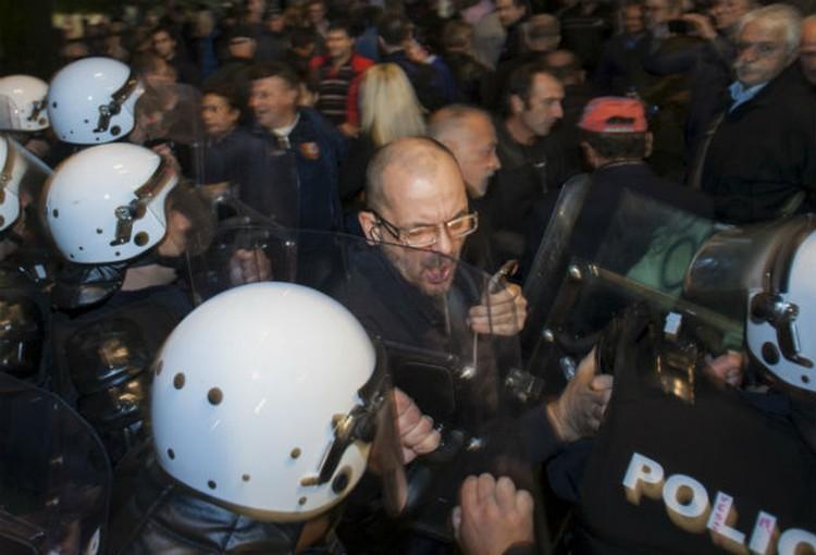 Акции протеста проходят в Черногории с середины октября.