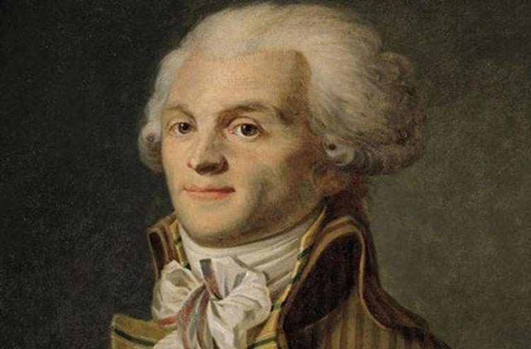 Робеспьер вынужден был в конце концов признать, что революция это обязательно великая кровь
