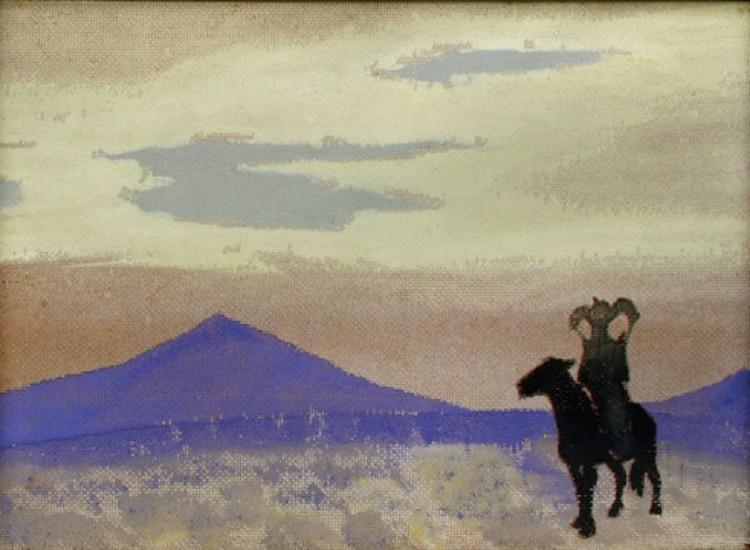 мать Чингис-хана. Николай Рерих. Фото: из архивов Третьяковской галереи.