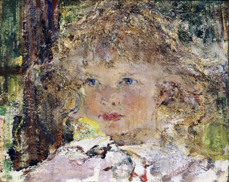Портрет дочери Ии. Николай Фешин. Фото: из архивов Третьяковской галереи.