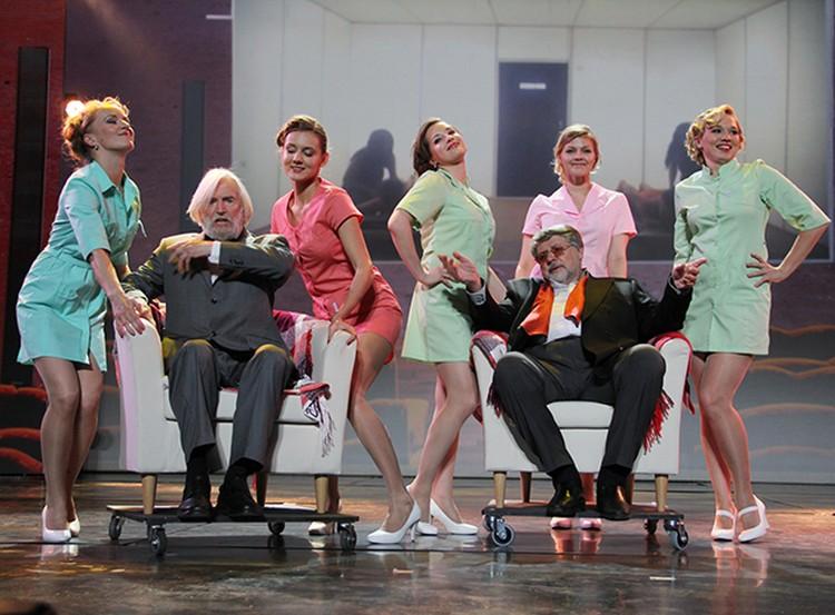 В МХТ состоялся грандиозный капустник для худрука театра Олега Павловича Табакова